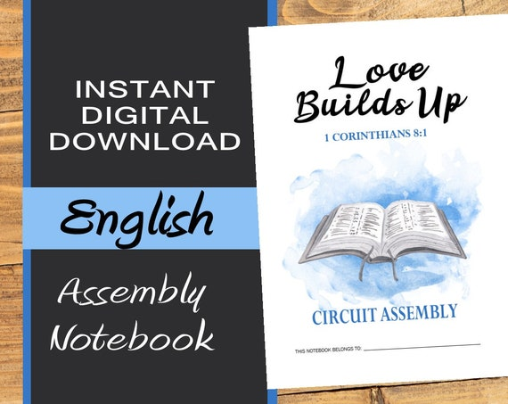 Love Builds Up - ENGLISH DIGITAL Circuit Assembly Notebook PDF File Download
