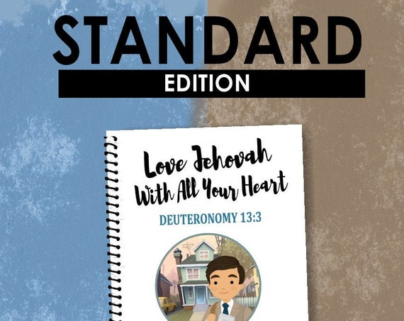 STANDARD EDITION -Love Jehovah With All Your Heart (Children's Circuit Assembly Notebook) English Digital pdf File