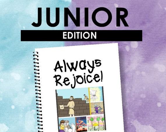 JUNIOR EDITION Download -Always Rejoice (2020 Children's Notebook) English Digital pdf File
