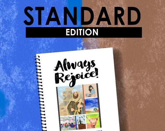 STANDARD EDITION Download -Always Rejoice! (2020 Children's Notebook) English Digital pdf File