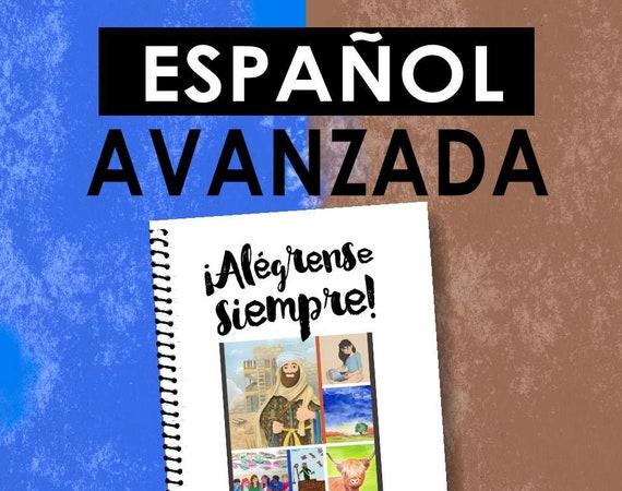 Spanish / ESPAÑOL -EDICIÓN  AVANZADA Download -Always Rejoice! (2020 Children's Notebook) English Digital pdf File