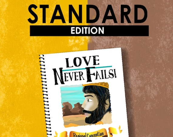 STANDARD EDITION Download -Love Never Fails! (2019 Children's Notebook) English Digital pdf File