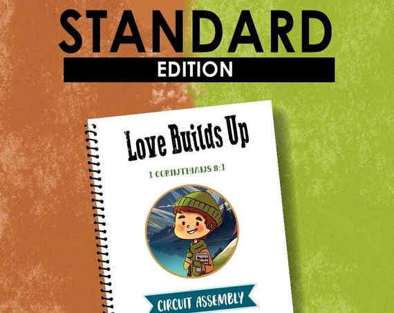 STANDARD EDITION -Love Builds Up (Children's Circuit Assembly Notebook) English Digital pdf File