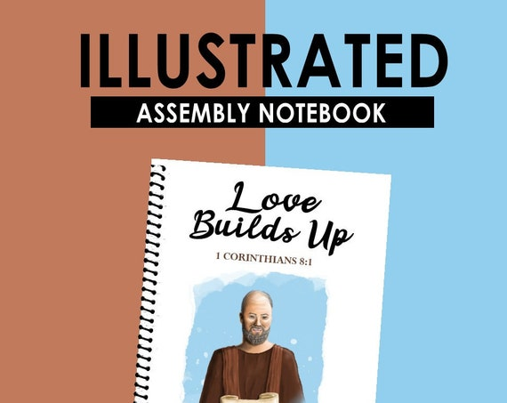 ILLUSTRATED EDITION -Love Builds Up (Teen Circuit Assembly Notebook) English Digital pdf File