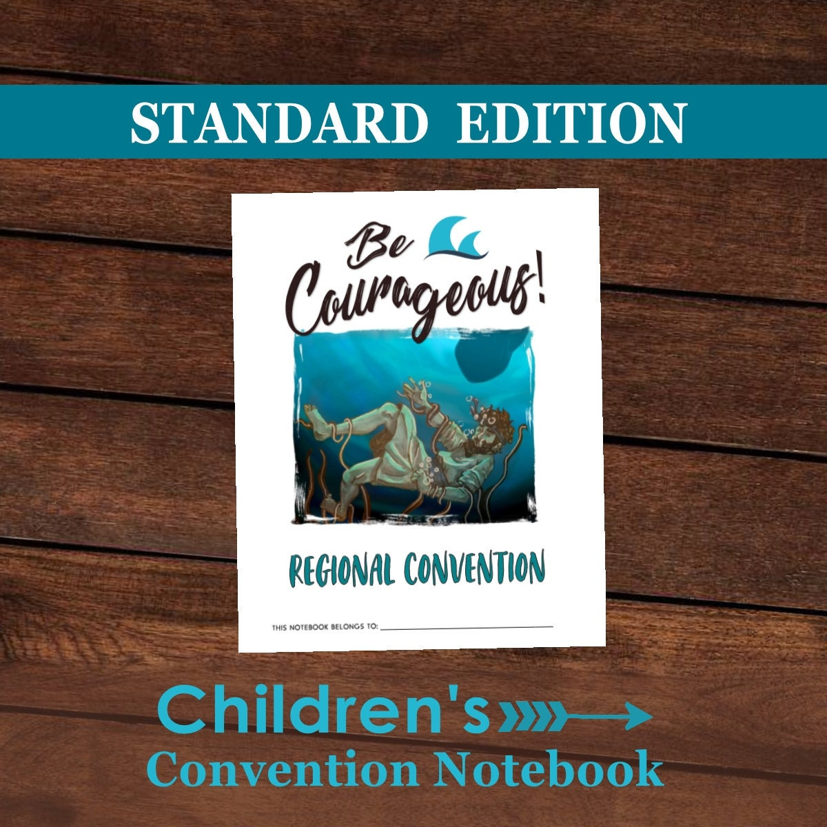 children convention notebooks