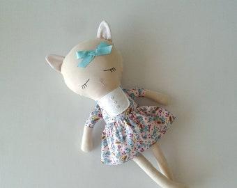 Fabric CAT Doll