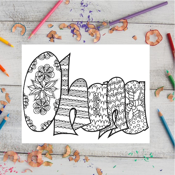 ohana coloring pages OHANA Printable coloring pages//adult coloring//digital | Etsy ohana coloring pages