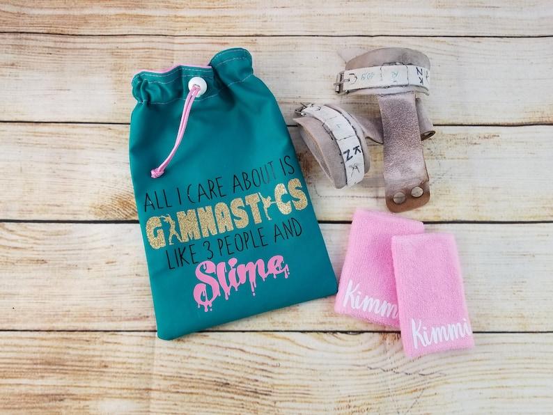 2b72a7c2a20d Gymnastics Grips Grip Bag Grips Bag Gymnastics Slime | Etsy