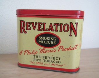 Revelation Tobacco Tin