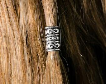 Dwarvendom Beard Bead Kit TIBETAN ALLOY viking beard rings Dwarvish beard bead Celtic mens jewelry