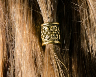 Dwarvendom Beard Bead Kit gold TIBETAN ALLOY Viking beard rings dwarven Celtic pirate norse rune goth viking jewelry pirate jewelry