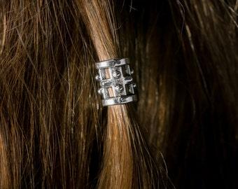 Dwarvendom Beard Bead Kit TIBETAN ALLOY silver Viking beard rings pirate beard bead celtic norse mens pirate
