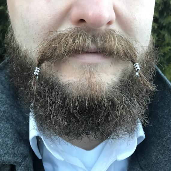 Mustache Bead Kit 1 Beard Beads Beard Rings Viking Beard