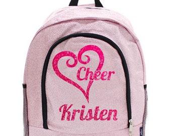 Pink Glitter backpack, Glitz & Glam