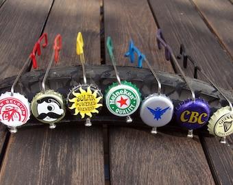 Beer View Mirror: Most Popular Bottle Caps
