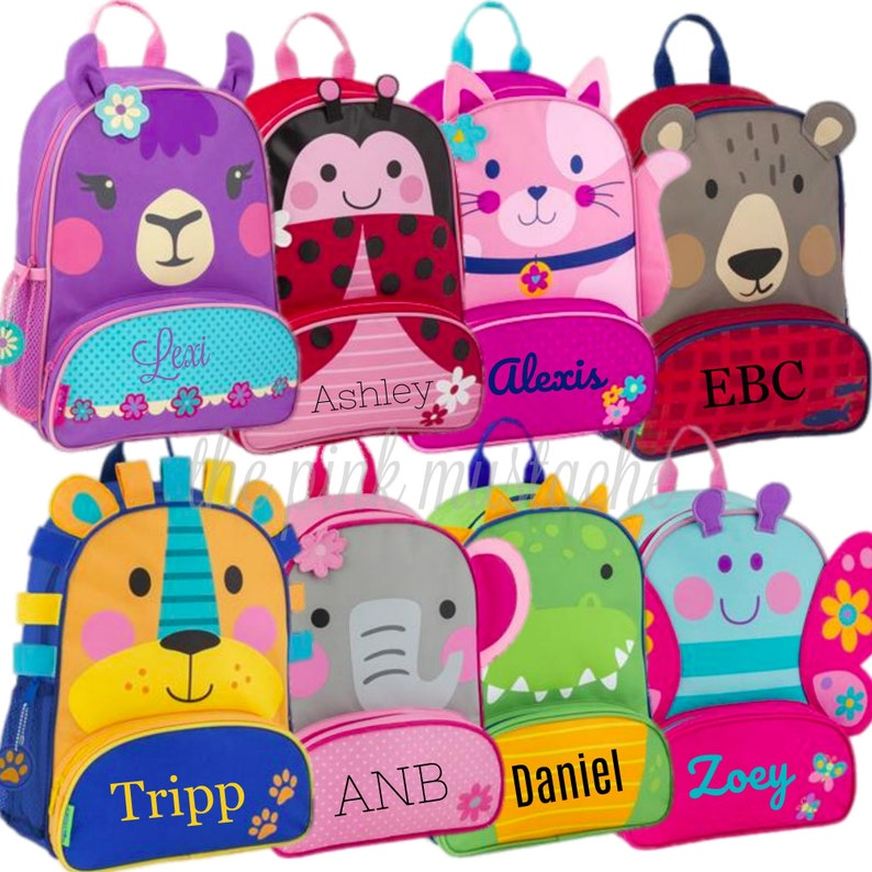 d43cbbdfa5 Personalized Embroidered Backpack   Stephen Joseph   Toddler