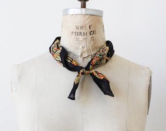 1970s deadstock indian cotton block print bandana