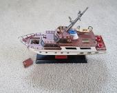 Vintage 60 39 s Waco Transistor Radio HMS Puff Cabin Cruiser Boat Made In Japan