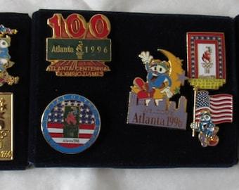 55840930d1 Lot of 15 Olympic 1996 Atlanta Pins ~ Mascot IZZY