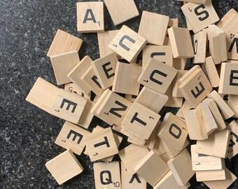 Scrabble Pins (6-10 piece)