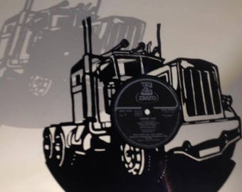 recycled vinyl C.cecile. Truck
