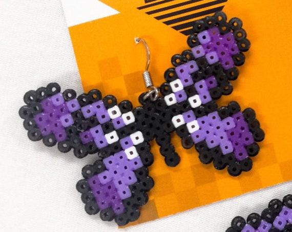 Purple Flutterby earrings