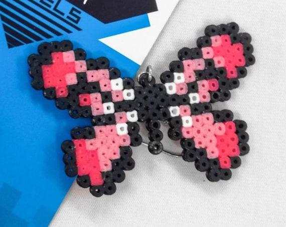 Pink Flutterby earrings