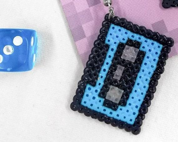 Light blue Retrotape earrings