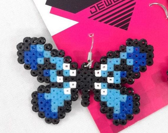 Blue Flutterby earrings