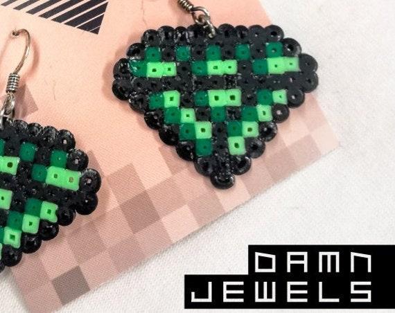 Green Damn Jewels earrings
