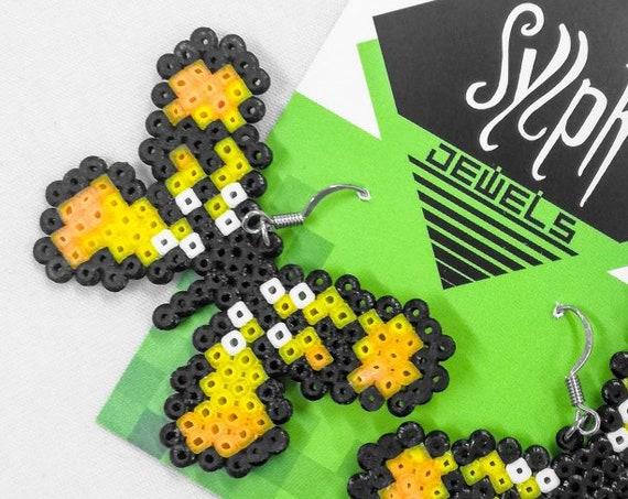 Yellow Flutterby earrings