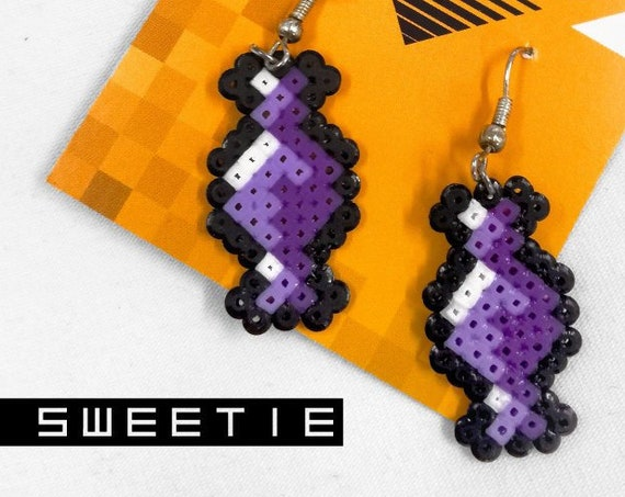 Purple Sweetie earrings