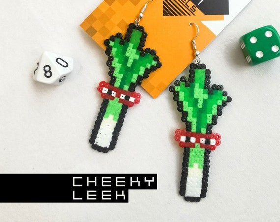 Cheeky Leek earrings
