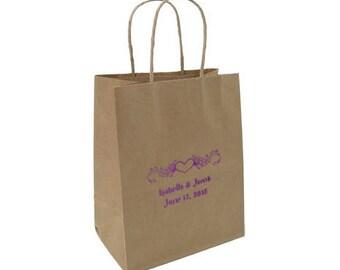 Kraft Bags - 50 Paper Choose Your Design