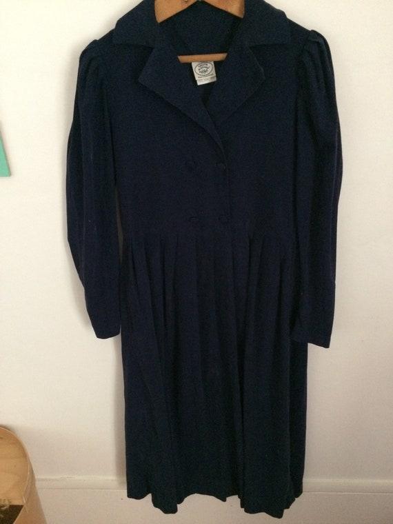 Vintage Laura Ashley Corduroy Dress