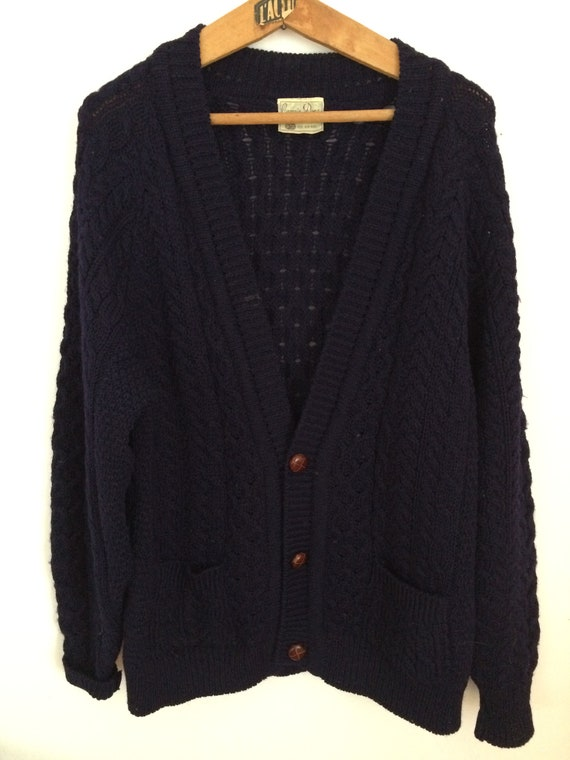 Pure New Wool Irish Cardigan