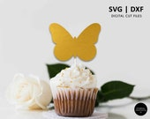Butterfly Cake Topper SVG, butterfly cupcake topper, butterfly svg cutting file, SVG, DXF, cricut, silhouette, baby shower, butterfly decor