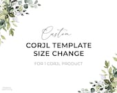 Size Change for 1 Corjl Product