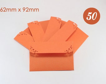 50 mini envelopes and 50 blank note cards wedding guest book etsy