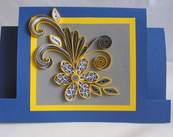 Handmade Quilling Birthday Card Paper Greeting
