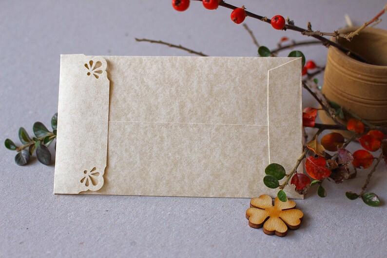 f69888f96eafb 50 Coin Envelopes Parchment Envelopes Seed Packet Envelopes