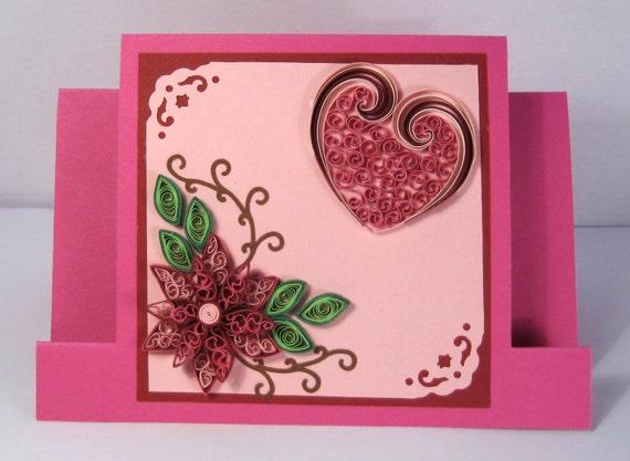 Valentines Day Card Girlfriend Birthday Thinking