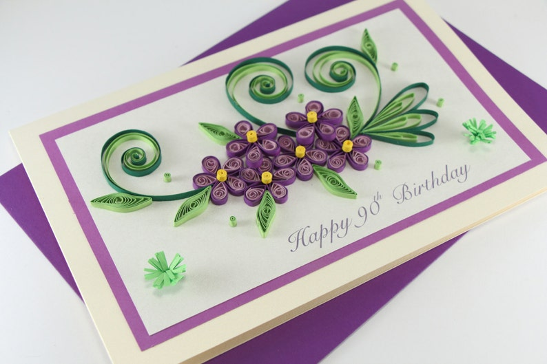 90th Birthday Card Mom Daughter Sister Nan Grandma
