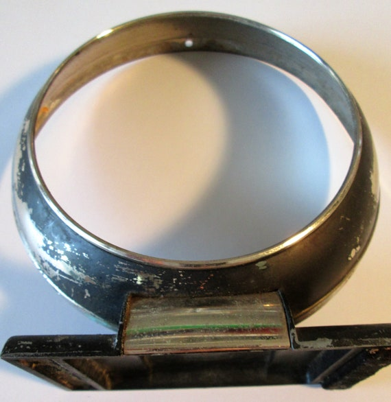 "1 Old and Worn Westclox Big Ben Alarm Clock Bezel 5 1/4"" for your Clock Projects,  Steampunk Art"