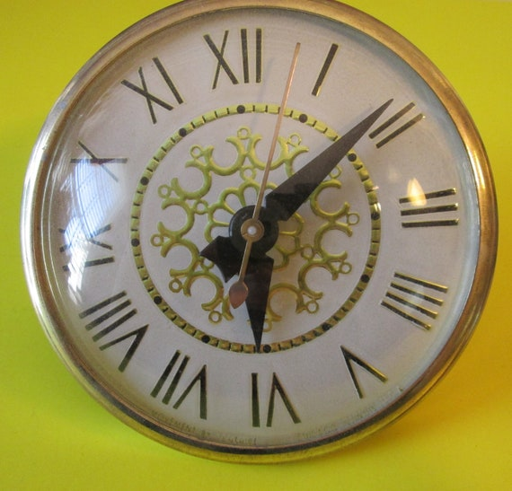 "Fancy Vintage 4"" Partial Clock for your Clock Projects, Steampunk Art, Altered Art and Etc..."