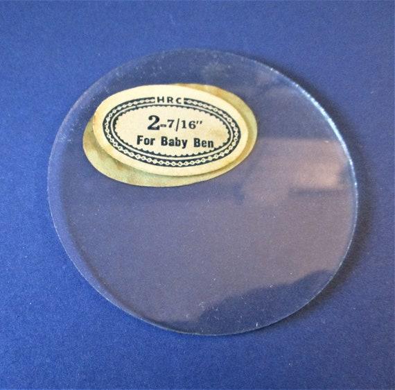 Westclox Baby Ben Alarm Clock Flat Glass - New/Old Stock - Never Used Stk# 346