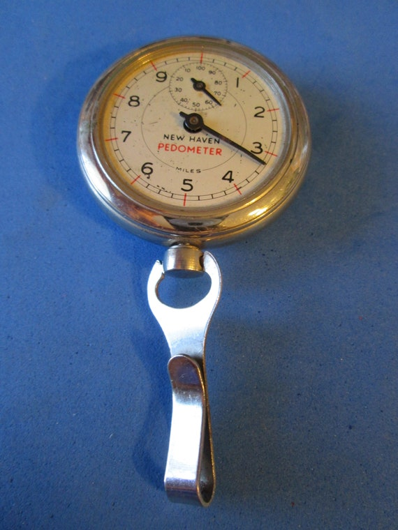 Vintage Partial New Haven Pedometer for Parts/Repair - Steampunk Art -
