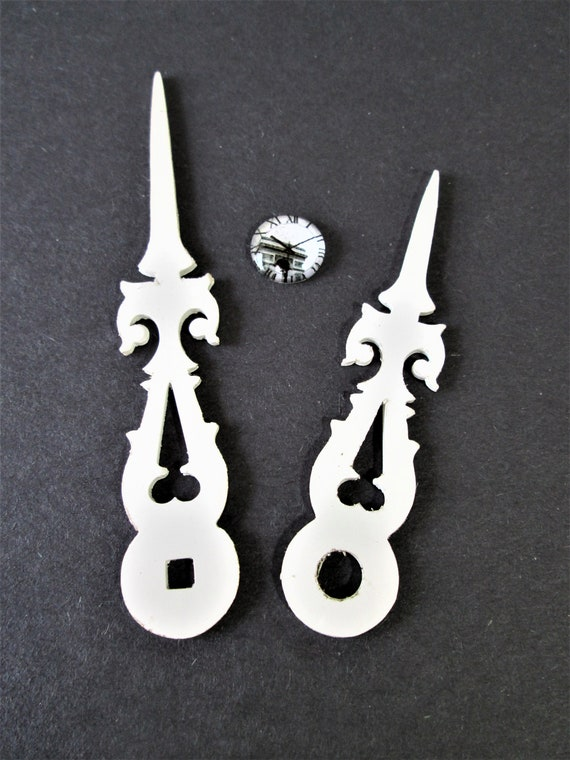 1 Pair of Large Fancy Plastic Cuckoo Clock Hands for your Cuckoo Clock Projects - Art -