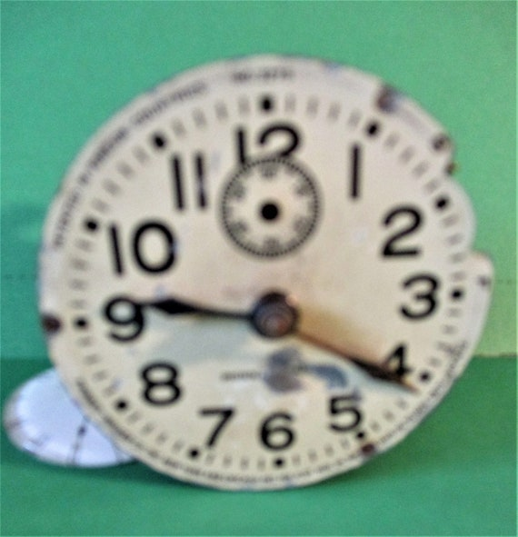 "2 3/8"" Vintage Phinney Walker Partial Clock Works for Repair/Parts  Stk# 693"