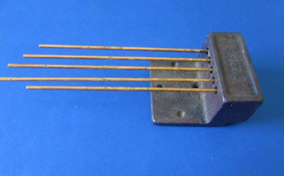 Cast Metal and Brass Chime Assembly for Antique and Vintage Clocks Stk# 536